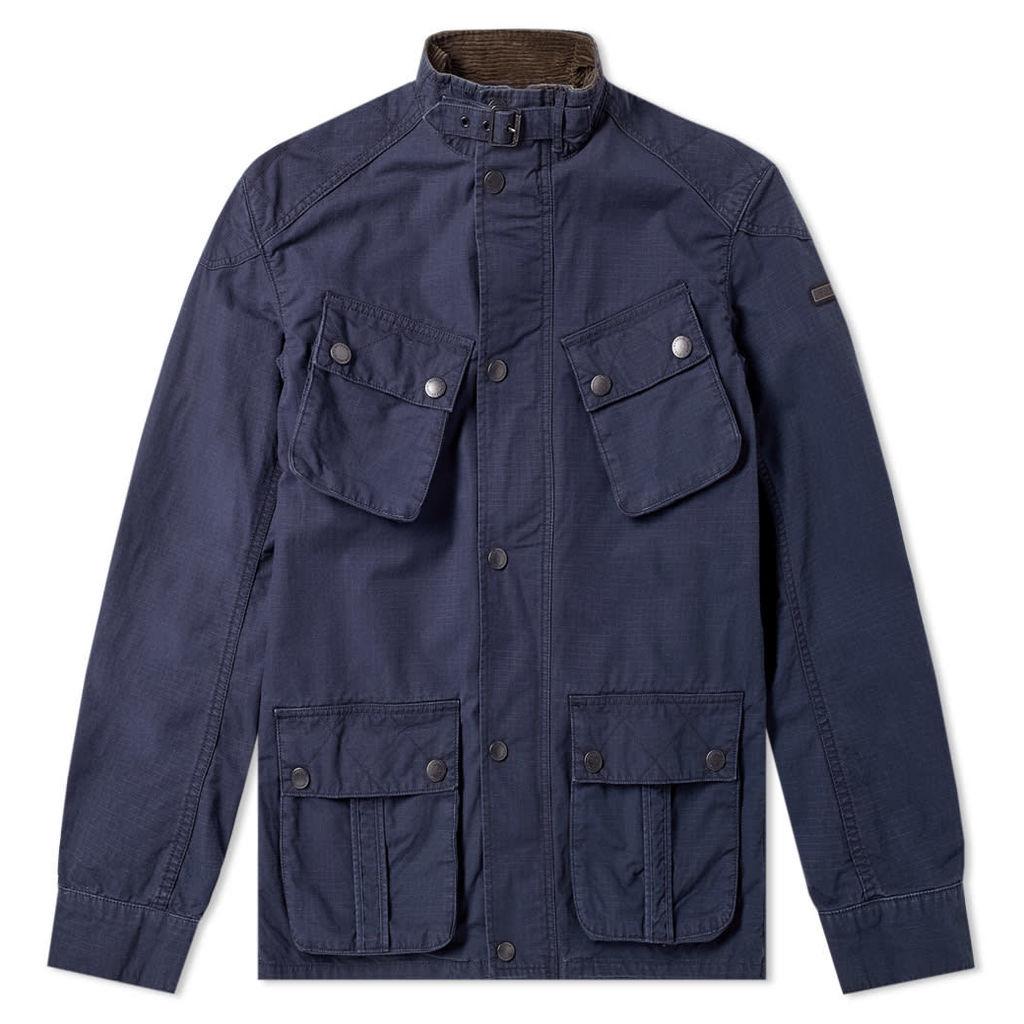 Barbour International Tees Ripstop Jacket Navy