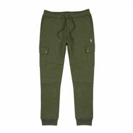 Polo Ralph Lauren Army Green Jersey Sweatpants