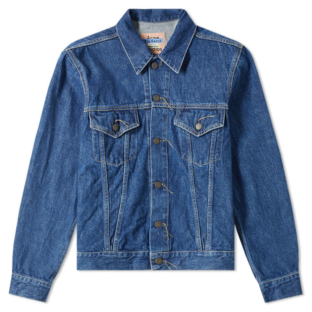 Acne Studios Trash 1998 Denim Jacket Dark Blue