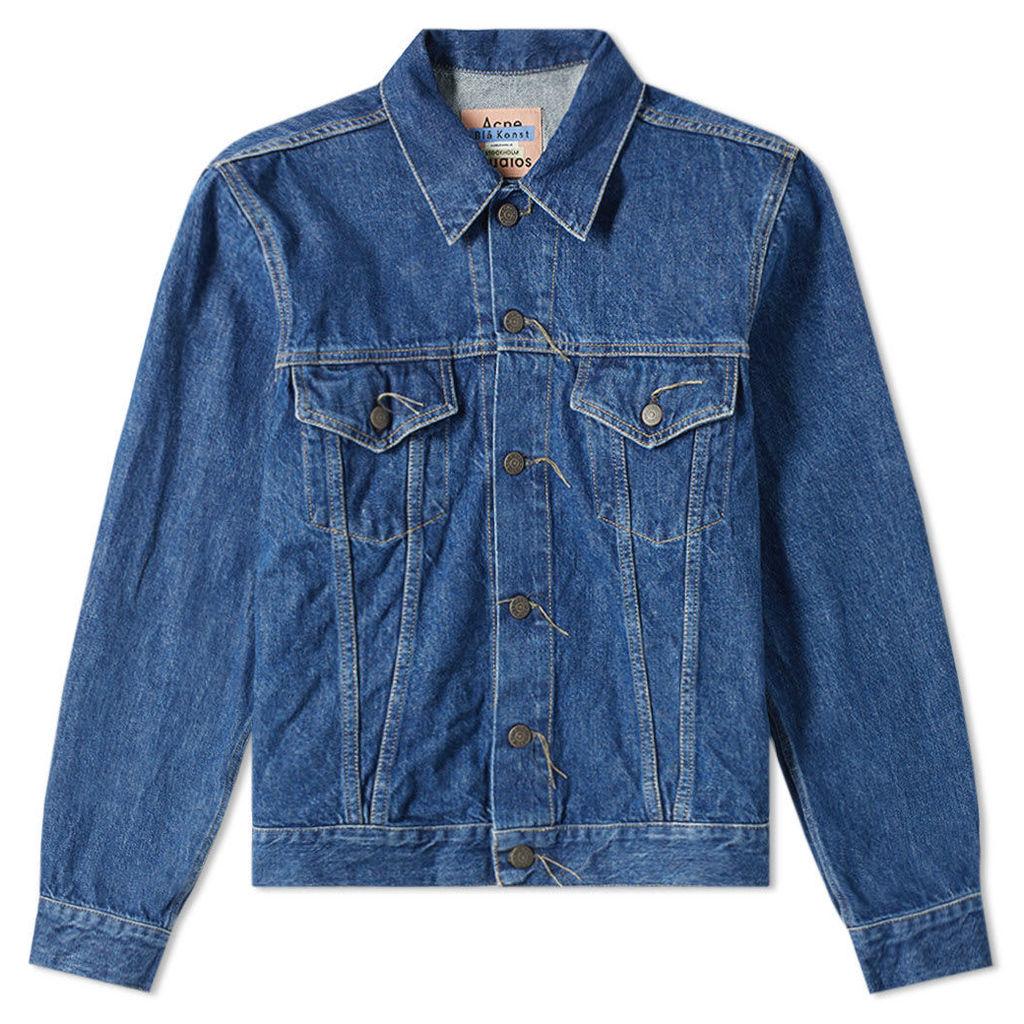 Acne Studios Trash 1998 Denim Jacket Dark Blue