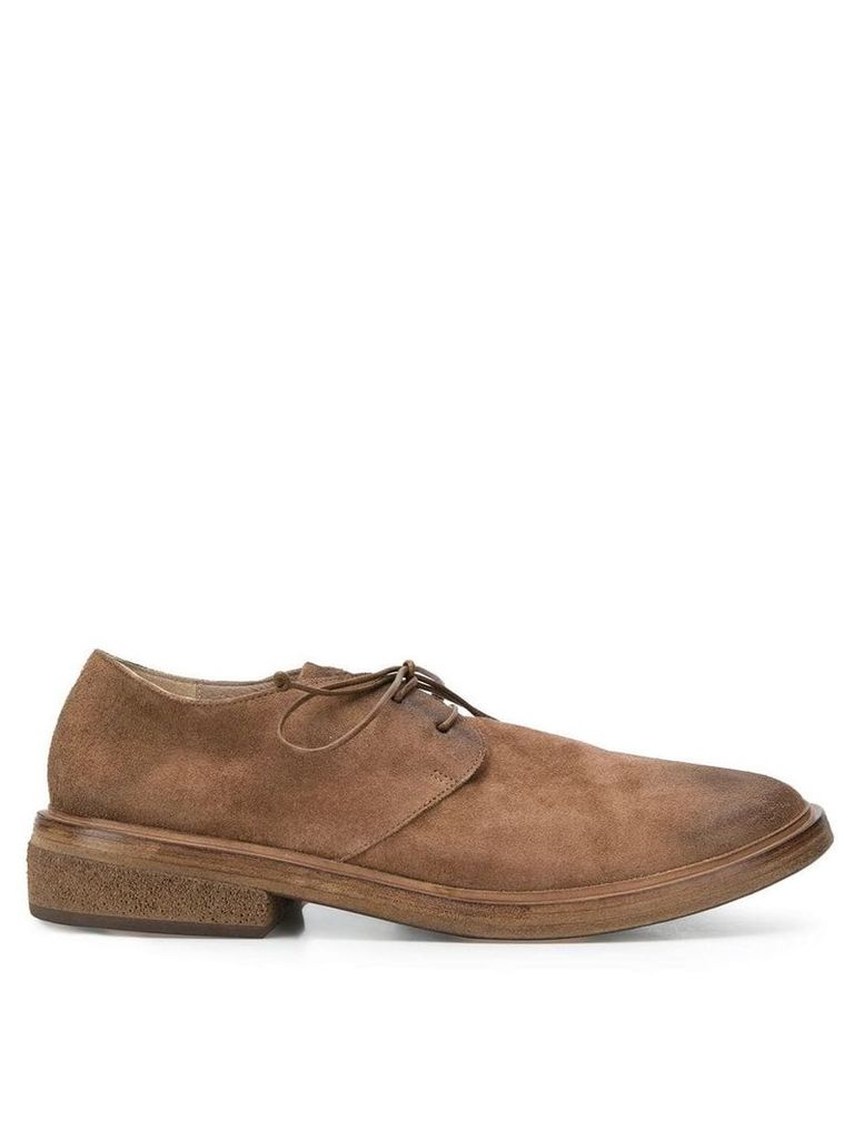 Marsèll round toe derby shoes - Brown