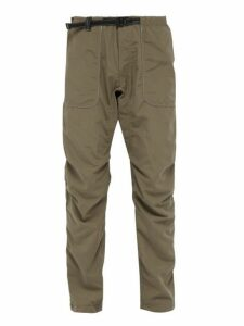 And Wander - Climbing Belted Trousers - Mens - Khaki