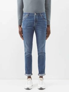 And Wander - Belted Stretch Trousers - Mens - Black