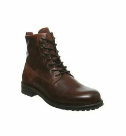Office Injunction Lace Boot WHISKEY LEATHER SUEDE