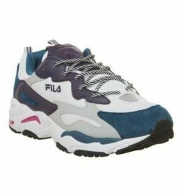 Fila Ray Tracer WHITE INK BLUE PURPLE PENNANT