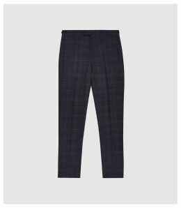 Reiss Grove - Slim Fit Trousers in Airforce Blue, Mens, Size 38
