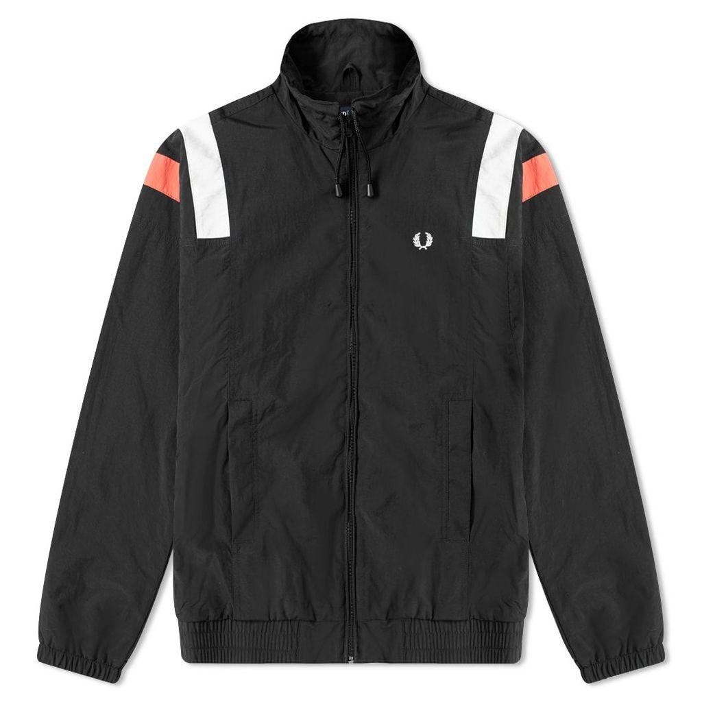 Fred Perry Colourblock Shell Jacket Black