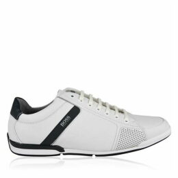 Boss Saturn Leather Low Top Trainers