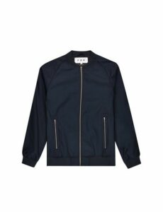 Mens Fōr Rayne Navy Bomber Jacket*, Black