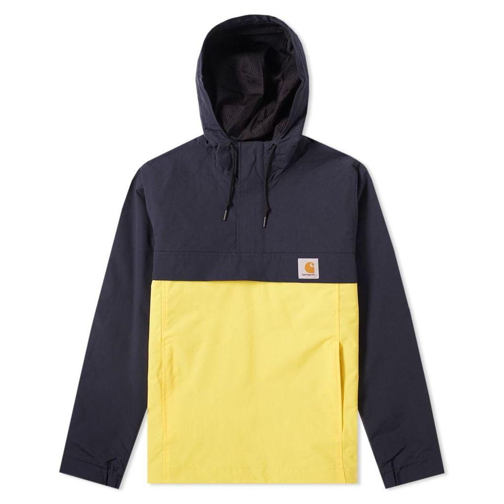 Carhartt Nimbus Two-Tone Pullover Jacket Dark Navy & Primula