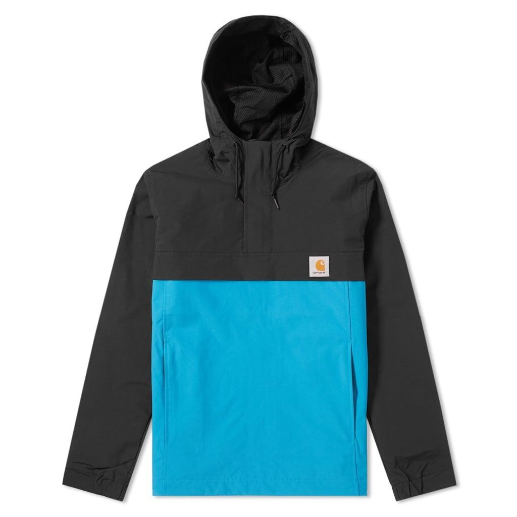Carhartt Nimbus Two-Tone Pullover Jacket Black & Pizol