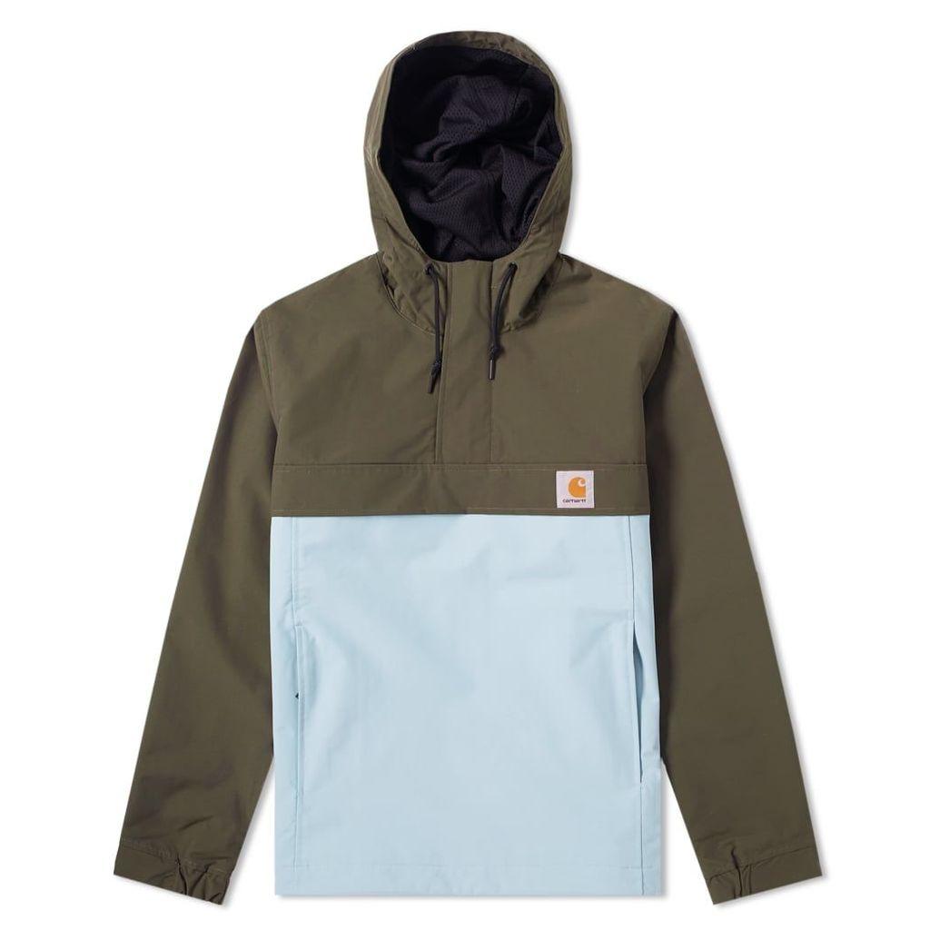 Carhartt Nimbus Two-Tone Pullover Jacket Cypress & Soft Aloe