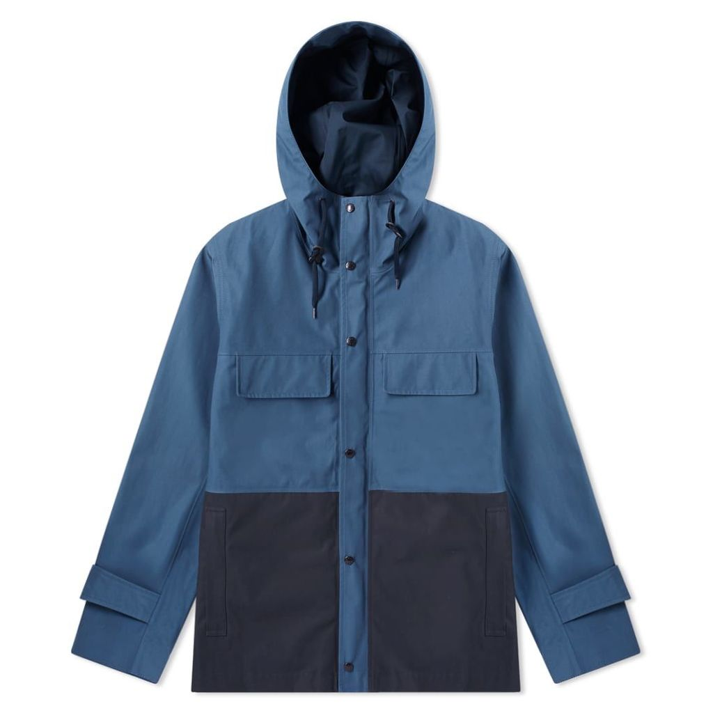 Nanamica Gore-Tex Cruiser Jacket Blue & Dark Navy
