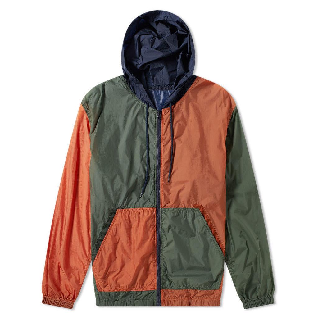 Nanamica Packable Cruiser Jacket Orange, Khaki & Navy