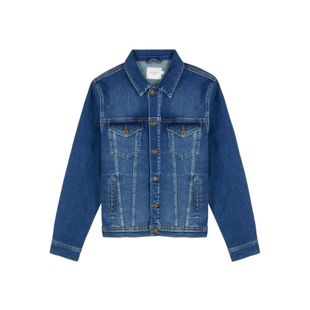 Les Deux Blue Denim Jacket