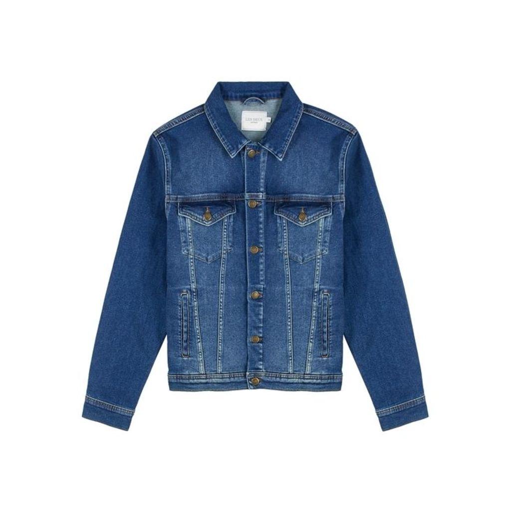 Les Deux Blue Denim Jacket