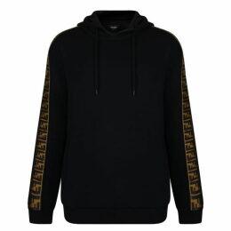 Fendi Ff Tape Hooded Sweatshirt