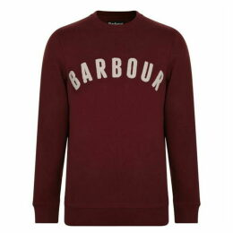 BARBOUR INTERNATIONAL Towelling Logo Sweatshirt