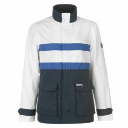 Original Penguin Vintage Striped Rain Jacket