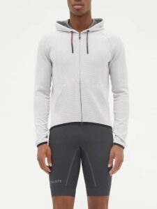 Wales Bonner - Striped Cargo Trousers - Mens - Black Red