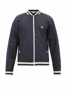 Maison Kitsuné - Windbreaker Varsity Jacket - Mens - Navy