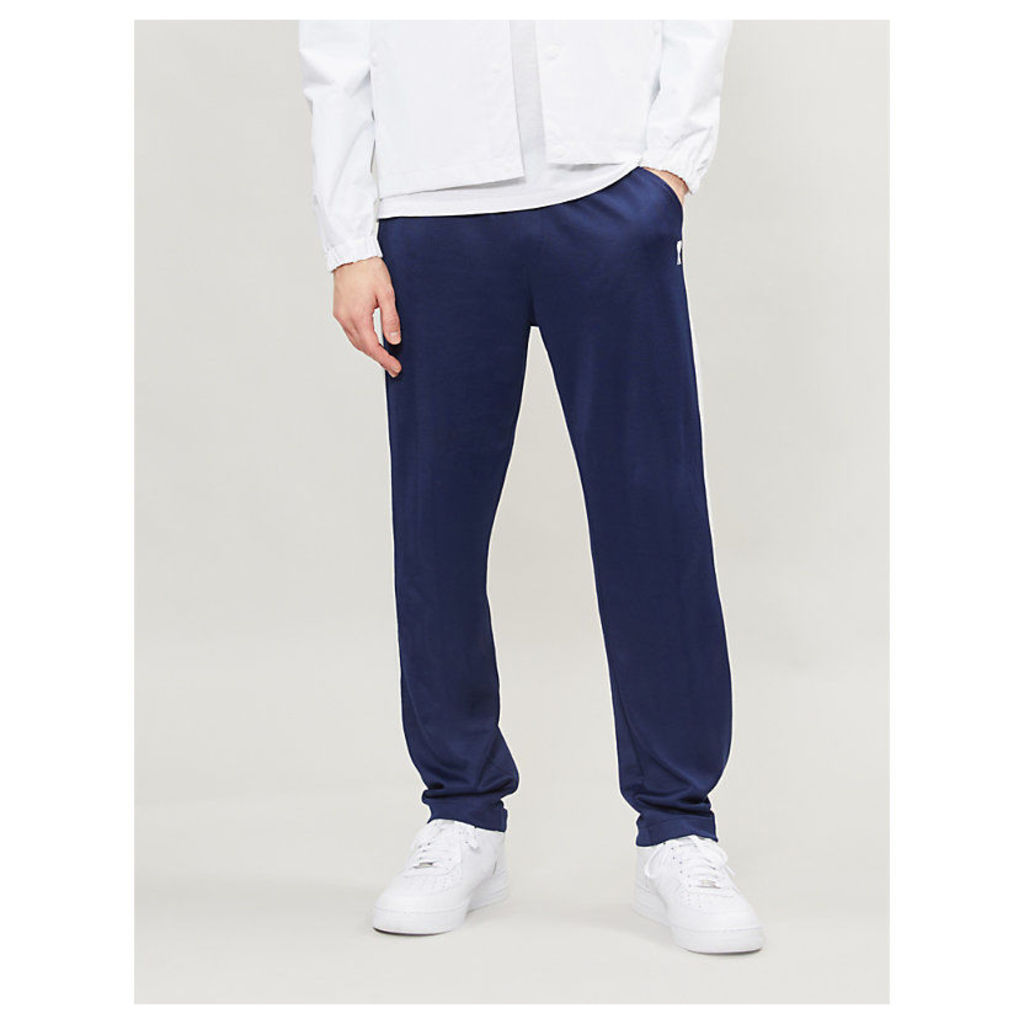 Striped shell jogging bottoms
