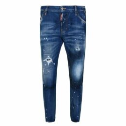 DSquared2 Sexy Twist Distressed Skinny Jeans