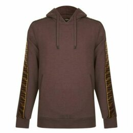 Fendi Ff Tape Hooded Sweatshirt