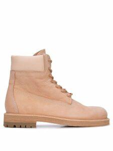 Hender Scheme lace-up boots - Neutrals