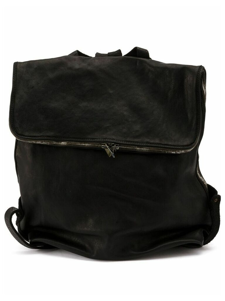Guidi leather backpack - Black