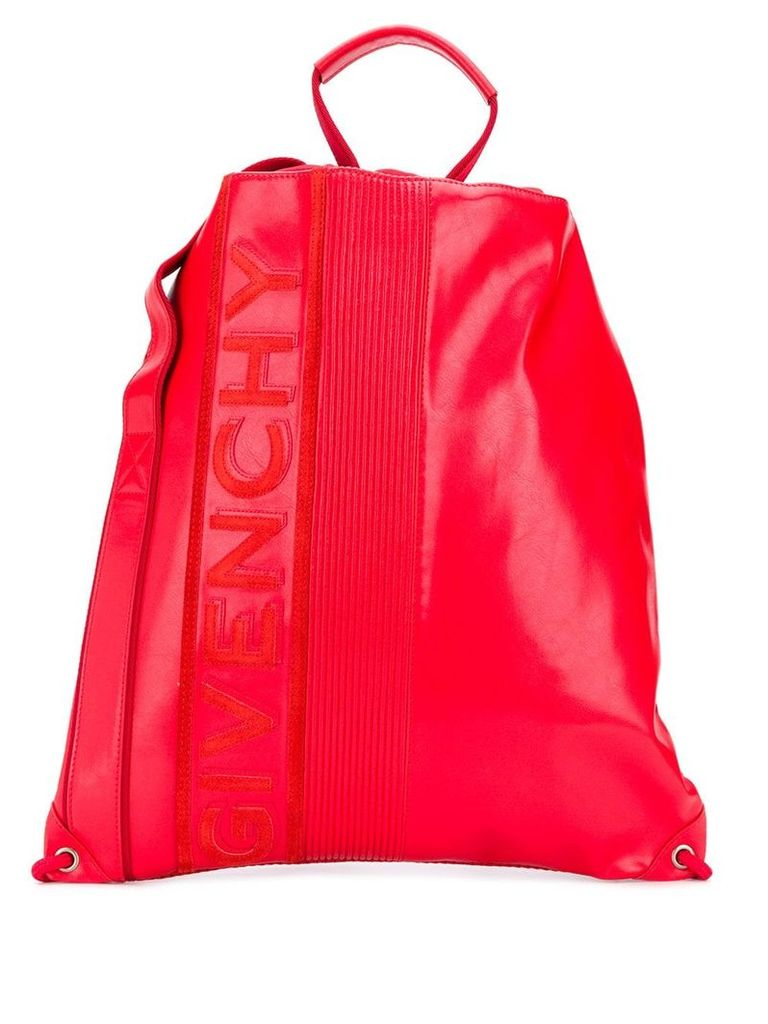 Givenchy drawstring backpack - Red
