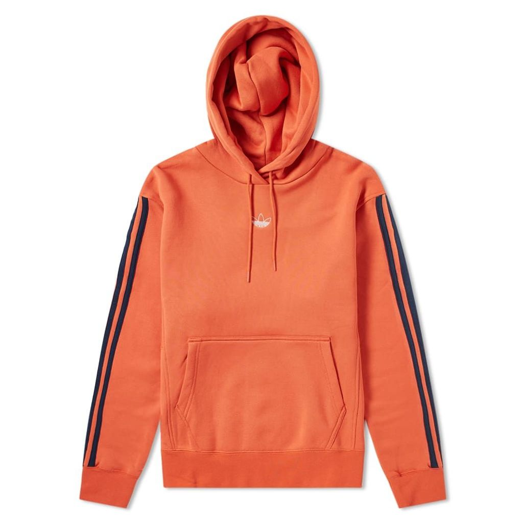 Adidas Off Court Hoody Raw Amber & Collegiate Navy