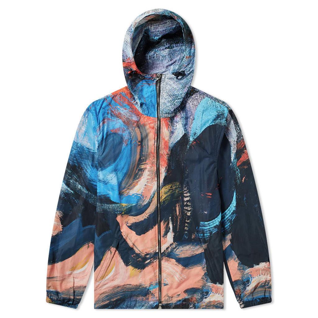 Alexander McQueen Brush Strokes Zip Jacket Mix Colour
