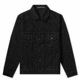 Alexander Wang Denim Jacket Black
