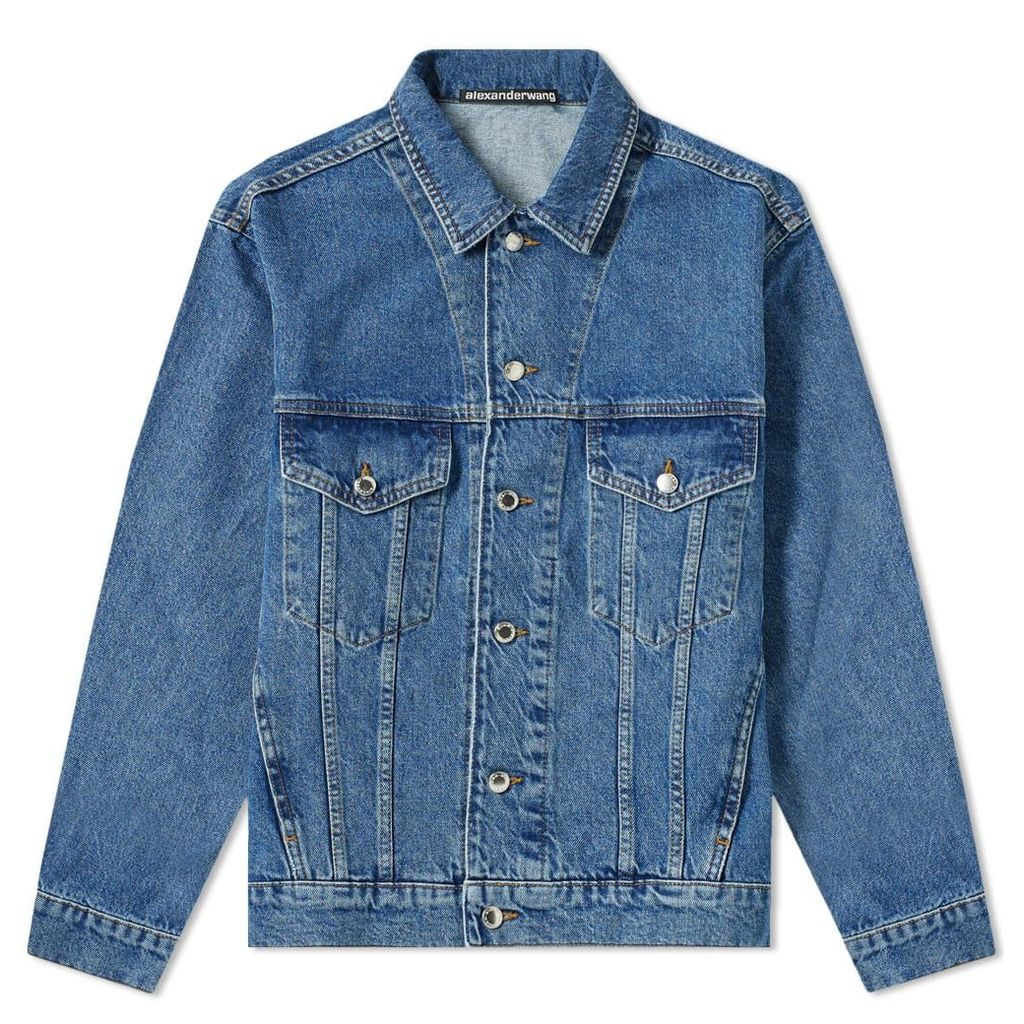 Alexander Wang Denim Jacket Indigo