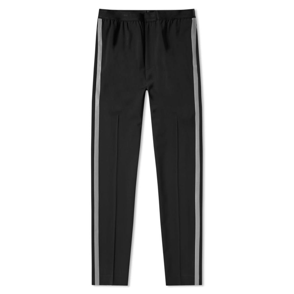Helmut Lang Pull On Reflective Tape Pant Black & Silver