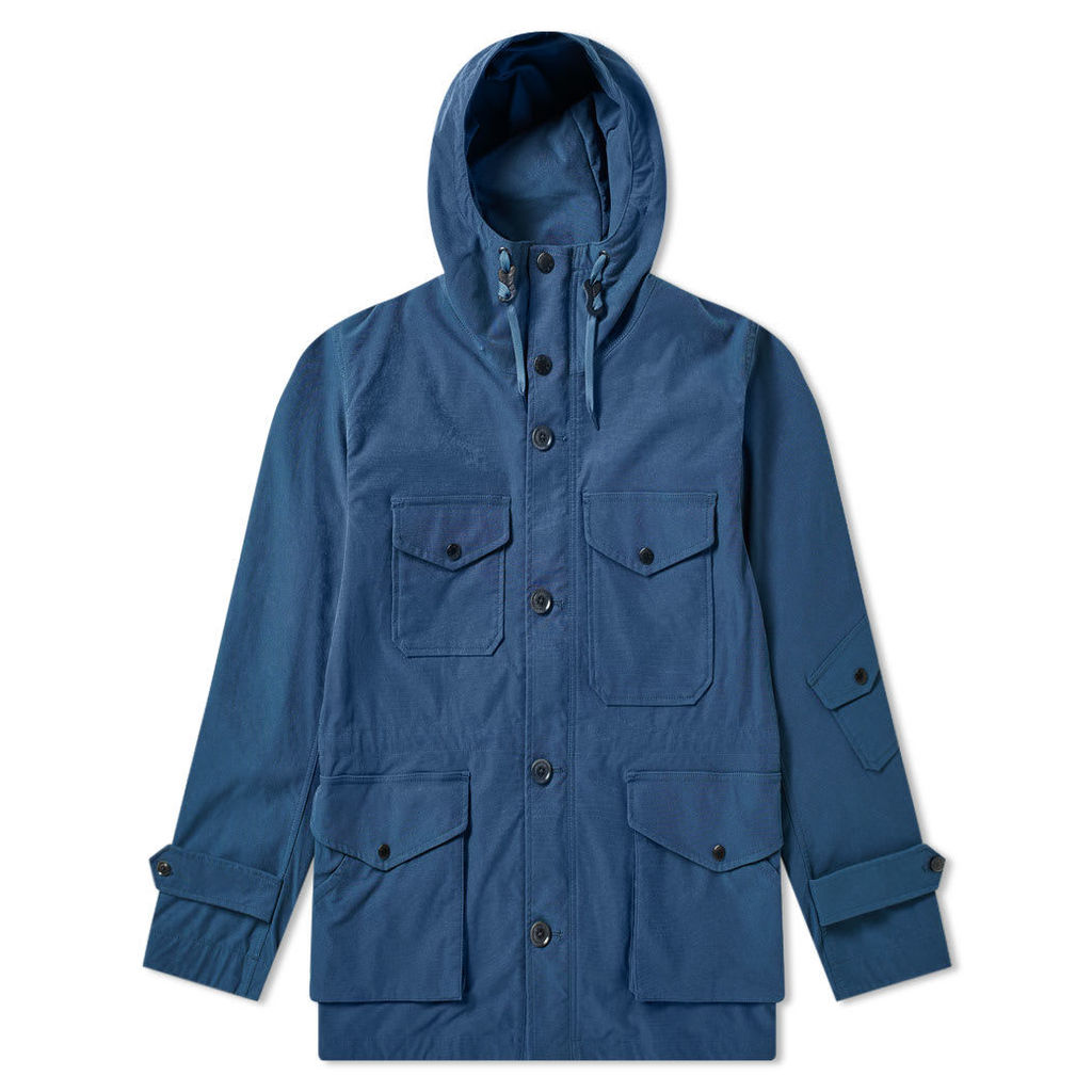 Nanamica Nylon Cruiser Jacket Slate Blue