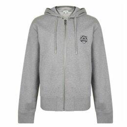 Kenzo Tiger Crest Zip Hooded Sweatshirt