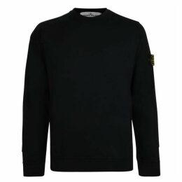 Stone Island Patch Long Sleeved Sweatshirt