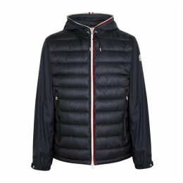 Moncler Navy Shell Jacket