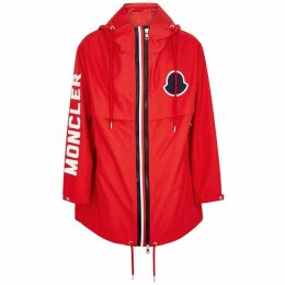 Moncler Granduc Red Shell Jacket