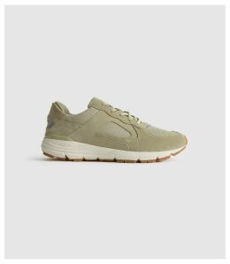Reiss Edwin - Clae Trainers in Green, Mens, Size 12