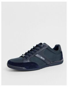 BOSS Saturn Lowp trainer in dark blue