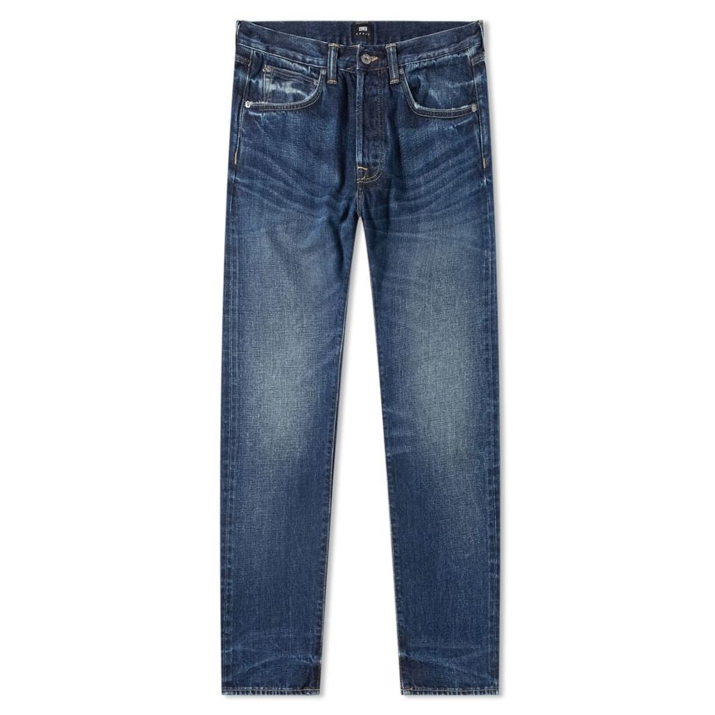 Edwin ED-55 Regular Tapered Jean Contrast Clean Red Selvedge