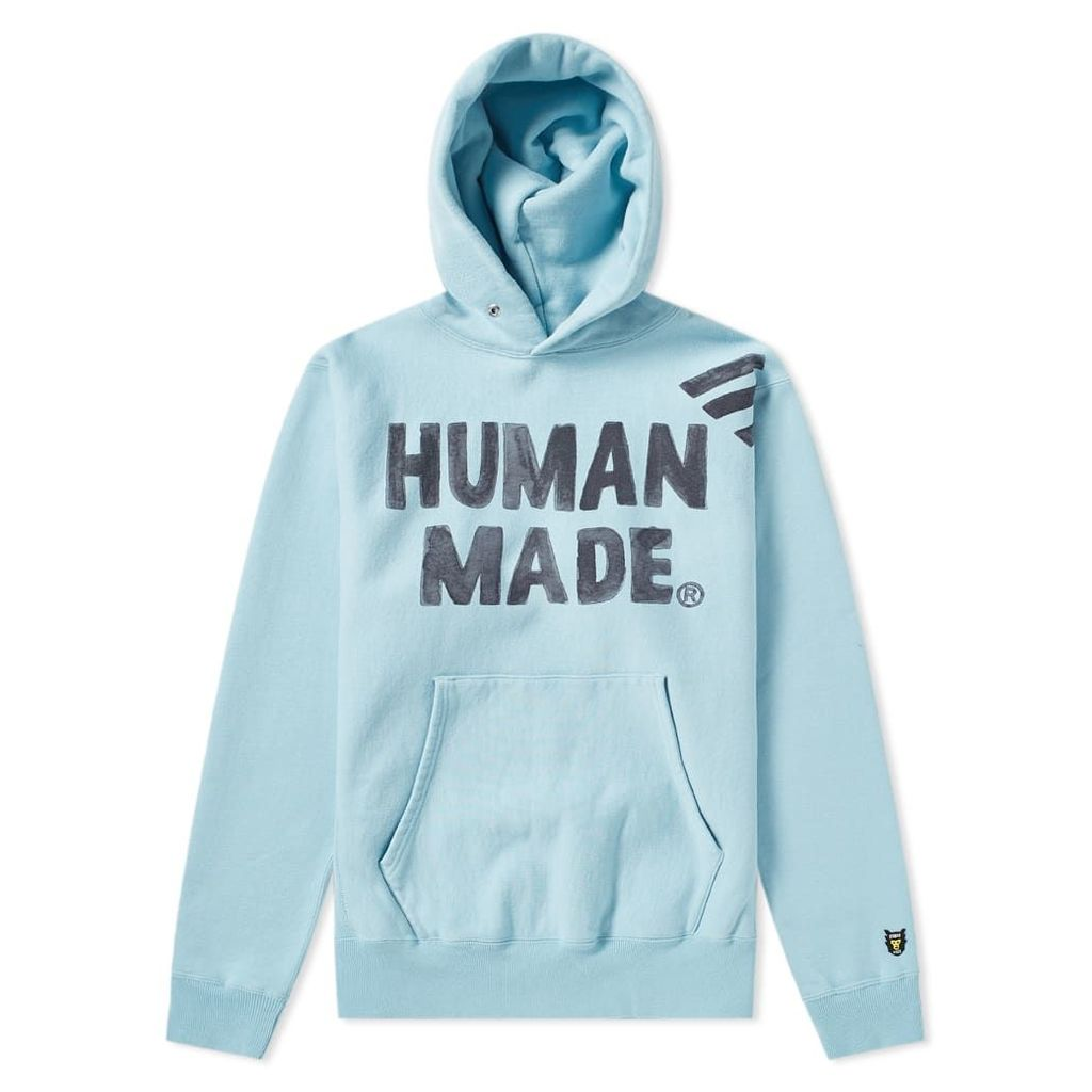 Human Made Pizza Popover Hoody Blue