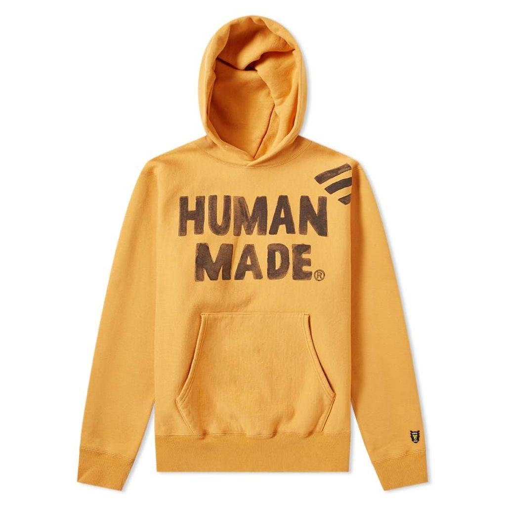 Human Made Pizza Popover Hoody Orange