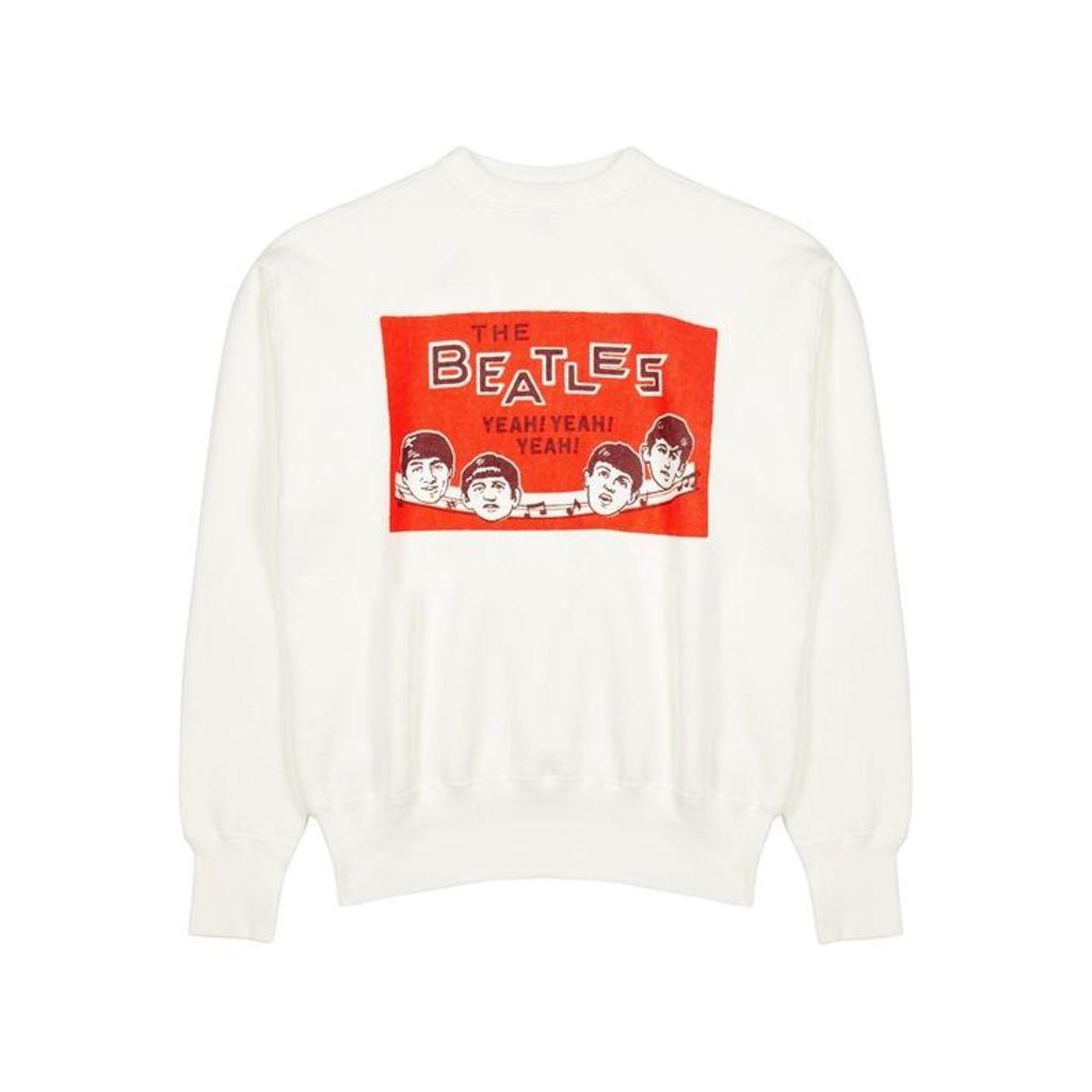 Human Made Beatles Printed Cotton Sweatshirt