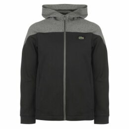 Lacoste Sport Hooded Colourblock Zip Sweatshirt
