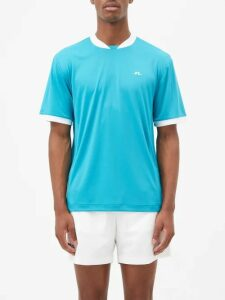 P.a.m. - Overlapping Waves Hooded Cotton Blend Jacket - Mens - Brown