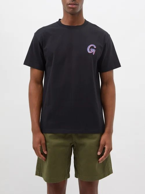 Hope - Wind Mid Rise Straight Leg Trousers - Mens - Dark Blue